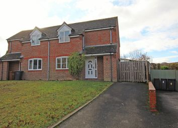 Thumbnail 2 bed semi-detached house for sale in Whiteshoot, Broughton, Stockbridge