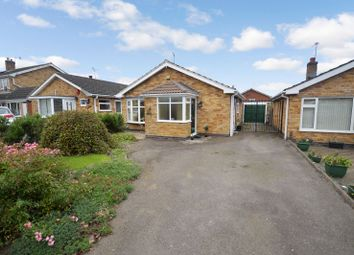 Thumbnail 2 bedroom bungalow for sale in Frome Avenue, Oadby, Leicester