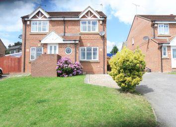 Thumbnail 2 bed semi-detached house to rent in Millside Walk, Morley, Leeds