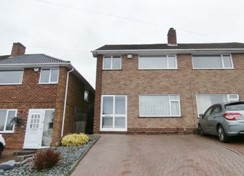 Thumbnail 3 bed semi-detached house to rent in Wideacre Drive, Great Barr, Birmingham