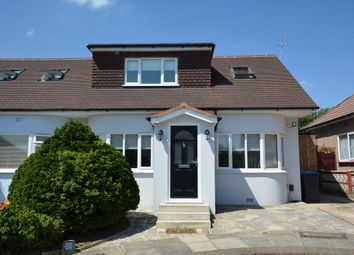 Thumbnail 4 bedroom semi-detached bungalow for sale in Parkfields Avenue, London