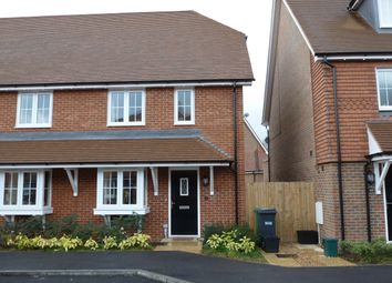 Thumbnail 3 bedroom end terrace house to rent in Newman Road, Horley