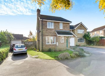 Thumbnail 3 bedroom detached house for sale in Wimbish Road, Papworth Everard, Cambridge