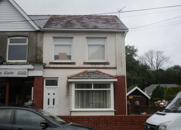 Thumbnail 3 bed terraced house for sale in Capitol Buildings, Gurnos Road, Ystradgynlais, Swansea.