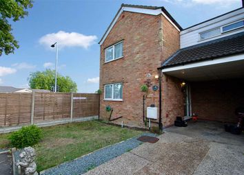 Thumbnail 3 bed end terrace house for sale in Waltham Close, Ipswich