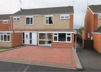 Thumbnail 3 bed semi-detached house for sale in Malham Road, Stourport-On-Severn