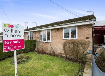 Thumbnail 2 bedroom semi-detached bungalow for sale in Partridge Close, Eckington, Sheffield