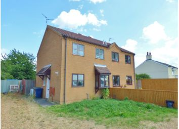 Thumbnail 3 bed semi-detached house for sale in Burnthouse Road, Turves, Whittlesey
