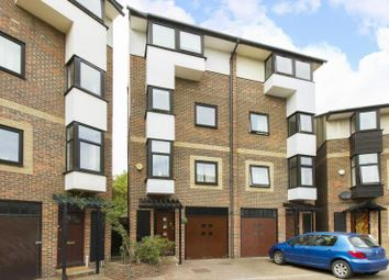 Thumbnail 4 bed semi-detached house for sale in Barnfield Place, Canary Wharf, London