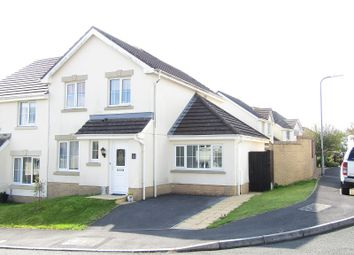 Thumbnail 3 bed semi-detached house for sale in Maes Y Wennol, Carmarthen, Carmarthenshire.