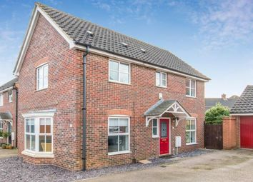 Thumbnail 3 bed link-detached house for sale in Wymondham, Norwich, Norfolk