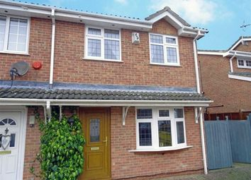 Thumbnail 3 bed semi-detached house for sale in Ashleigh Gardens, Barwell, Leicester