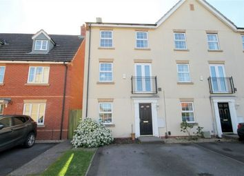 Thumbnail 4 bed end terrace house for sale in Britannia Close, Downend, Bristol