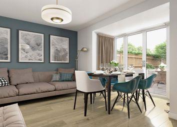 "Thumbnail 4 bed terraced house for sale in ""Burrington"" at Wedgwood Drive, Barlaston, Stoke-On-Trent"