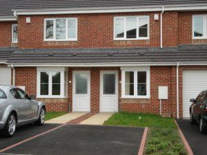 Thumbnail 2 bed mews house to rent in Hazel Court, Haswell, Durham