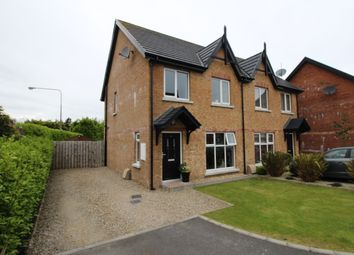 Thumbnail 3 bedroom semi-detached house for sale in Cotswold Gardens, Bangor