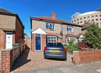 Thumbnail 2 bed semi-detached house for sale in Regent Road North, Gosforth, Newcastle Upon Tyne