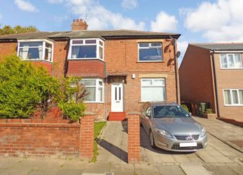 Thumbnail 2 bed flat to rent in Balkwell Avenue, North Shields