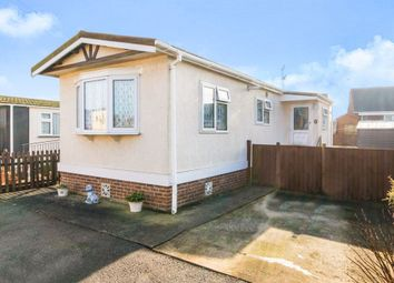 Thumbnail 1 bed mobile/park home for sale in Lea Park Home Estate, Church Road, Boston