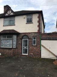 Thumbnail 4 bed semi-detached house to rent in Selly Oak, Birmingham