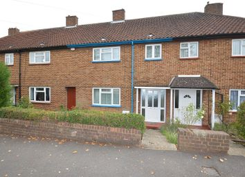 Thumbnail 3 bed terraced house for sale in Sanger Avenue, Chessington, Surrey.