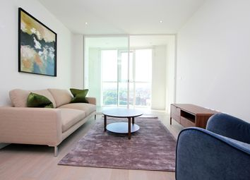 Thumbnail 1 bed flat to rent in Sky Gardens, Wandsworth Road, Nine Elms SW8, London,