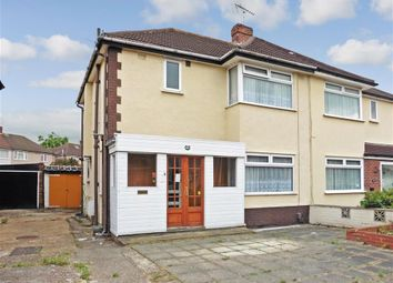 Thumbnail 3 bed semi-detached house for sale in Lancaster Drive, Hornchurch, Essex