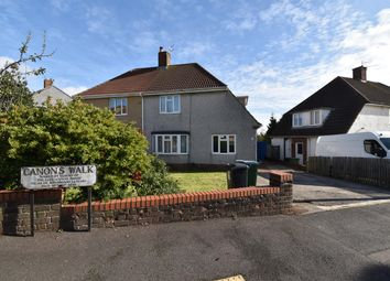 Thumbnail 3 bed semi-detached house for sale in Canons Walk, Kingswood, Bristol