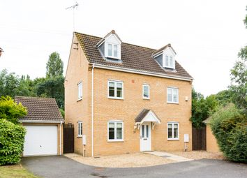 Thumbnail 4 bedroom detached house for sale in Boleyn Avenue, Peterborough