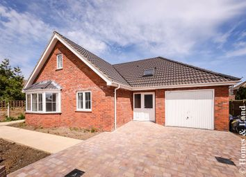Thumbnail 4 bedroom detached bungalow for sale in Yarmouth Road, Caister-On-Sea, Great Yarmouth
