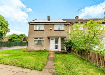Thumbnail 3 bed end terrace house for sale in Cameron Court, Corby