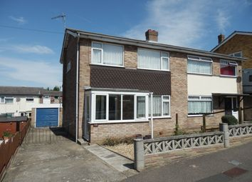 Thumbnail 3 bed semi-detached house for sale in Fallowfield Close, Harwich