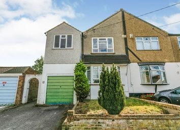 Thumbnail 4 bed semi-detached house to rent in Rollo Road, Swanley