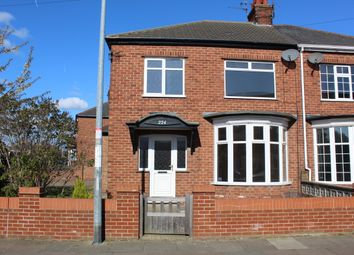 Thumbnail 3 bed semi-detached house to rent in Daubney Street, Cleethorpes