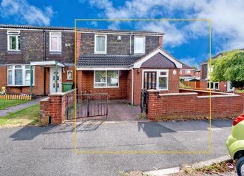 Thumbnail 3 bedroom end terrace house for sale in Church Place, Bloxwich, Walsall