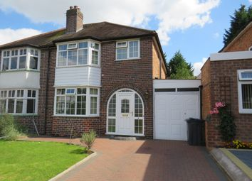 Thumbnail 3 bed semi-detached house for sale in Grayland Close, Acocks Green, Birmingham