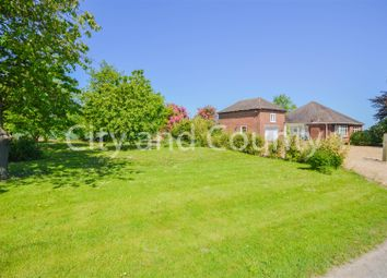 Thumbnail 4 bed detached bungalow for sale in Holbeach Drove Gate, Holbeach Drove, Spalding