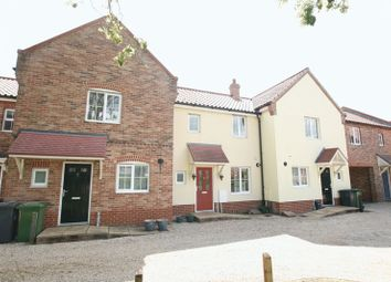 Thumbnail 3 bed terraced house to rent in Baxter Close, Fakenham