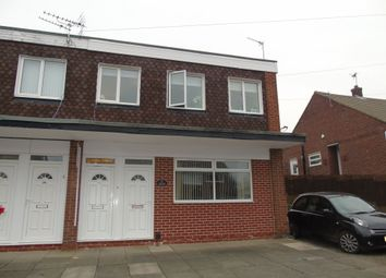 Thumbnail 2 bedroom flat for sale in Carlton Crescent, East Herrington, Sunderland