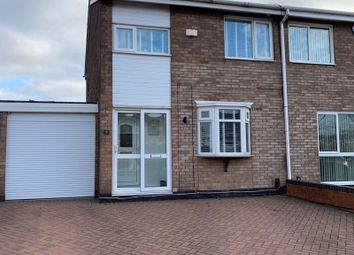 Thumbnail 3 bed semi-detached house for sale in Chilham Drive, Chelmsley Wood, Birmingham