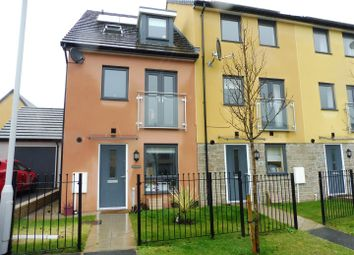 Thumbnail 4 bedroom end terrace house for sale in Limeburners Road, Plymouth