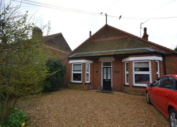 Thumbnail 3 bed detached bungalow for sale in Station Road, Snettisham, King's Lynn