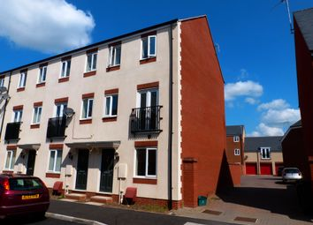 Thumbnail 3 bed town house for sale in Longhorn Avenue, Gloucester