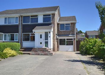 Thumbnail 4 bed semi-detached house for sale in 10, Brynglas Close, Barnfields, Newtown, Powys