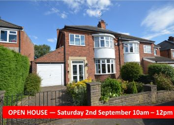 Thumbnail 3 bed semi-detached house for sale in Romway Avenue, Evington, Leicester