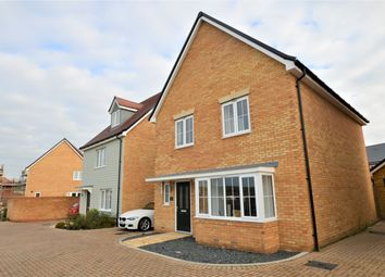 Thumbnail 4 bed detached house for sale in Rhino Drive, Stanway, Colchester