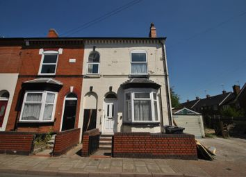 Thumbnail 3 bed end terrace house for sale in Middleton Road, Kings Heath, Birmingham