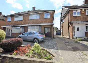 Thumbnail 3 bed semi-detached house for sale in Freshwell Avenue, Chadwell Heath