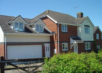 Thumbnail 4 bed detached house to rent in Notley Drive, Haverhill