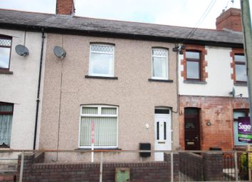 Thumbnail 3 bed terraced house for sale in Raglan Street, Risca, Newport